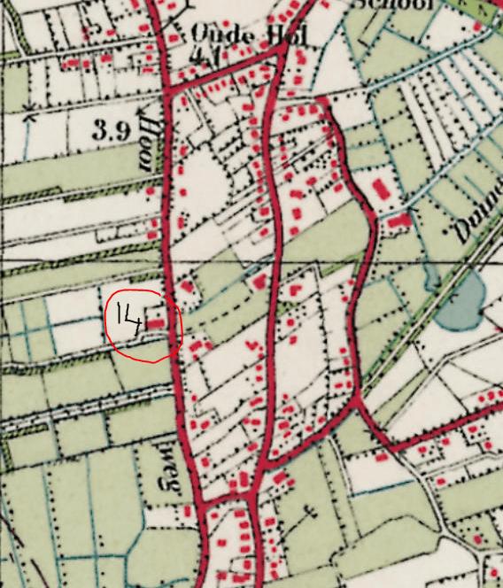 Locatie Hooiweg 14