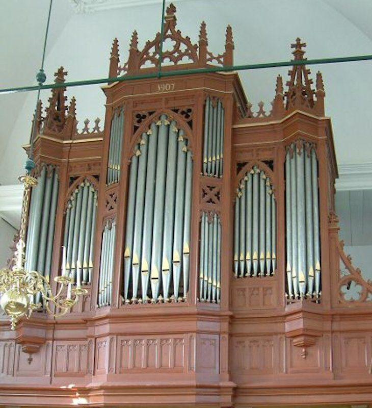Het Van Dam orgel
