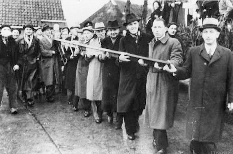 Opheffing tolhuis Eelderwolde november 1947