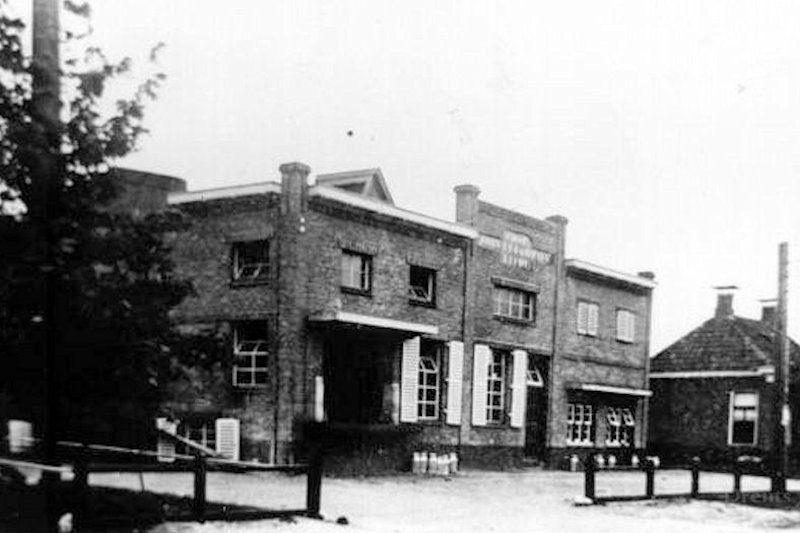 Coöperatieve zuivelfabriek in 1950
